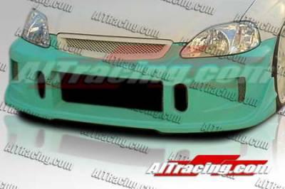 AIT Racing - Honda Civic AIT Racing BCN1 Style Front Bumper - HC99HIBCN1FB