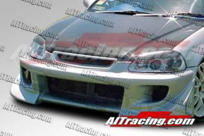 AIT Racing - Honda Civic AIT Racing BZ Style Front Bumper - HC99HIBZSFB