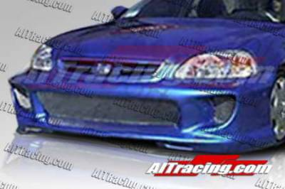 AIT Racing - Honda Civic AIT Racing Combat Style Front Bumper - HC99HICBSFB