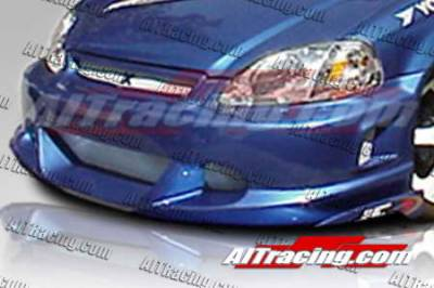 AIT Racing - Honda Civic AIT Racing EVO2 Style Front Bumper - HC99HIEVO2FB