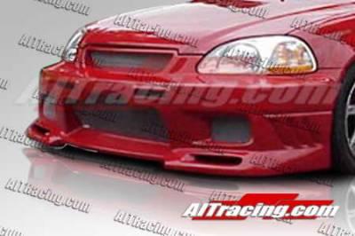 AIT Racing - Honda Civic AIT Racing EVO3 Style Front Bumper - HC99HIEVO3FB