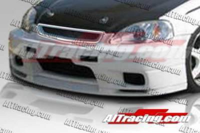AIT Racing - Honda Civic AIT Racing R33 Style Front Bumper - HC99HIR33FB
