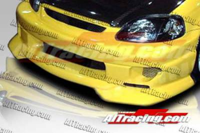 AIT Racing - Honda Civic AIT Racing SF2 Style Front Bumper - HC99HISF2FB