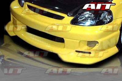 AIT Racing - Honda Civic AIT SFII Style Front Bumper - HC99HISFIIFB