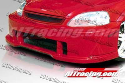 AIT Racing - Honda Civic AIT Racing SiN Style Front Bumper - HC99HISINFB