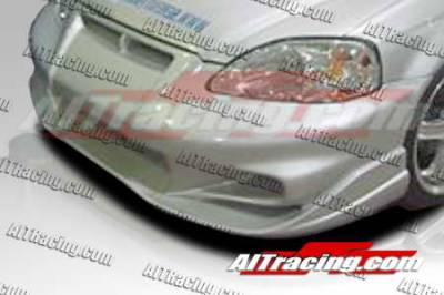 AIT Racing - Honda Civic AIT Racing VS2 Style Front Bumper - HC99HIVS2FB
