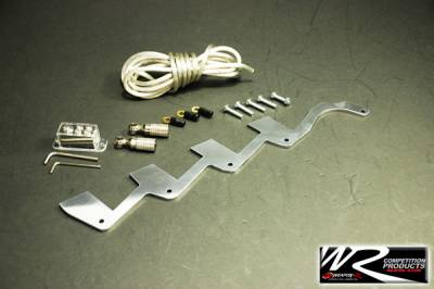 Weapon R - Honda Civic Weapon R Ignition Equalizer Kit - Polished - 960-111-101