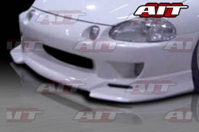 AIT Racing - Honda Del Sol AIT Racing SF Style Front Bumper - HD93HISFIFB