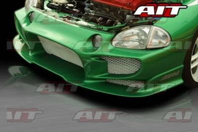 AIT Racing - Honda Del Sol AIT VS Style Front Bumper - HD93HIVSSFB