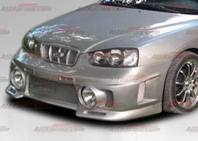 AIT Racing - Hyundai Elantra AIT Racing EVO Style Front Bumper - HE01HIEVOFB