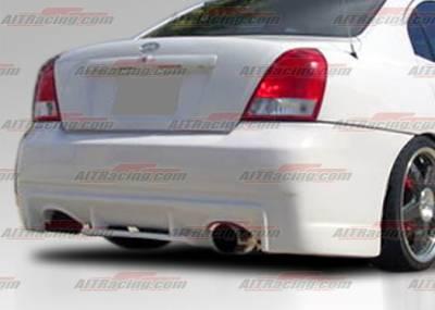 AIT Racing - Hyundai Elantra AIT Racing EVO Style Rear Bumper - HE01HIEVORB