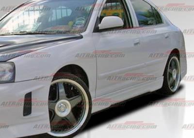 AIT Racing - Hyundai Elantra AIT Racing EVO Style Side Skirts - HE01HIEVOSS