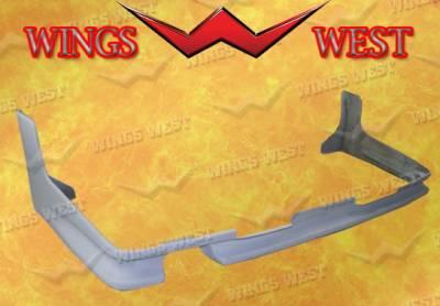 Wings West - Nissan 300Z Wings West Rear Lower Skirt - Fiberglass - 49078