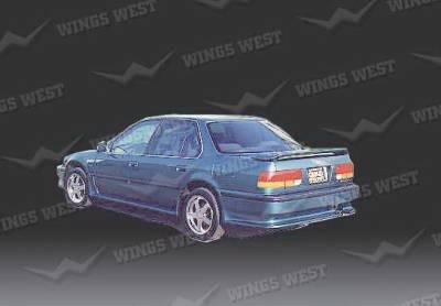 Wings West - Honda Accord Wings West Rear Lower Skirt - Fiberglass - 49207