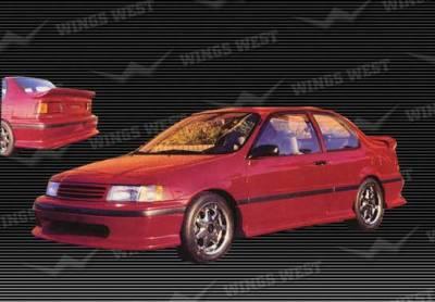VIS Racing - Toyota Tercel VIS Racing Rear Lip - Fiberglass - 49702