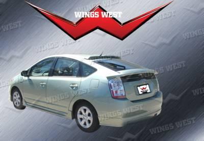 Wings West - Toyota Prius Wings West W-Type Rear Lower Skirt - 490229