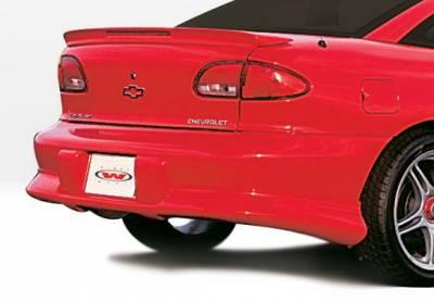 Wings West - Chevrolet Cavalier Wings West Custom Style Rear Lower Skirt - 890048