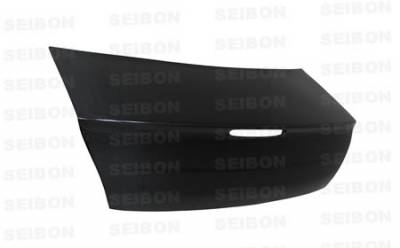 Seibon - BMW 3 Series 4DR Seibon TH Style Carbon Fiber Rear Spoiler - RS0507BMWE90-TH