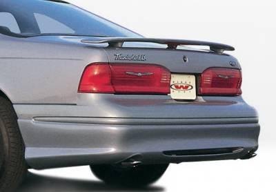 Wings West - Ford Thunderbird Wings West Custom Style Rear Lower Skirt - 890118