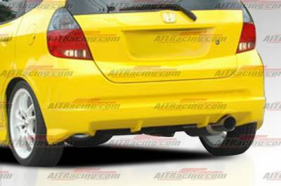 AIT Racing - Honda Fit AIT Racing MG Style Rear Bumper - HF06HIMGNRB