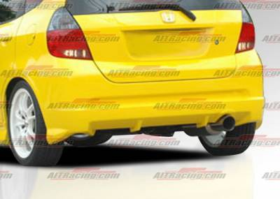 AIT Racing - Honda Fit AIT Racing MG Style Rear Hatch - HF06HIMGNRHB