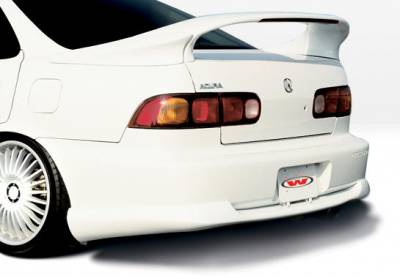 VIS Racing - Acura Integra 4DR VIS Racing Racing Series Rear Lip - Polyurethane - 890147
