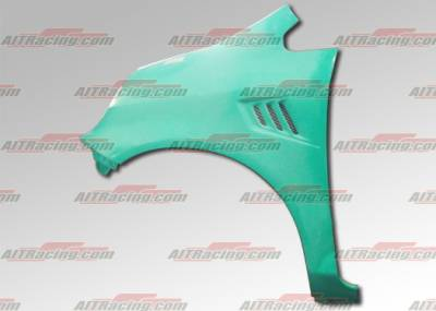 AIT Racing - Honda Fit AIT Racing MLB Style Fenders - HF06HIMLBFF