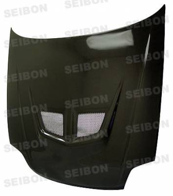 Seibon - Honda Fit Seibon SP Style Carbon Fiber Rear Spoiler - RS0708HDFIT-SP
