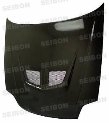 Seibon - Honda Fit Seibon SP Style Carbon Fiber Rear Spoiler - RS0708HDFIT-SP