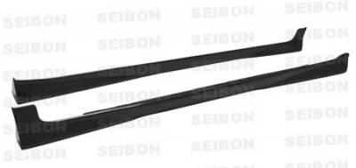 Seibon - Toyota Yaris Seibon OEM Style Carbon Fiber Rear Spoiler - RS0708TYYARHB-OE
