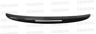 Seibon - Infiniti G37 Seibon OEM Style Carbon Fiber Rear Spoiler - RS0809INFG372D