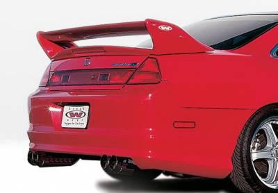 Wings West - Honda Accord 2DR Wings West W-Type Rear Lower Skirt - 890281