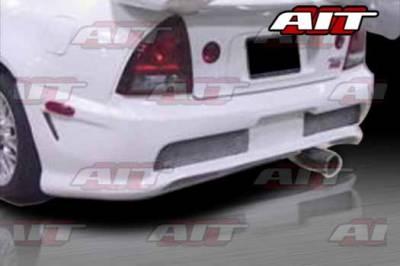 AIT Racing - Honda Prelude AIT CBII Style Rear Bumper - HP92HICBIIRB