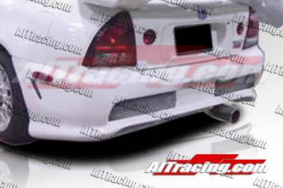 AIT Racing - Honda Prelude AIT Racing Combat Style Rear Bumper - HP92HICBSRB