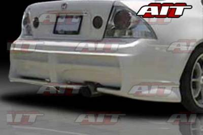 AIT Racing - Honda Prelude AIT Extreme Style Rear Bumper - HP92HIEXSRB
