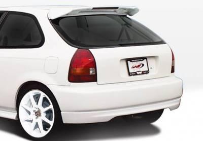 VIS Racing - Honda Civic HB VIS Racing Type-R Rear Lip - Polyurethane - 890357