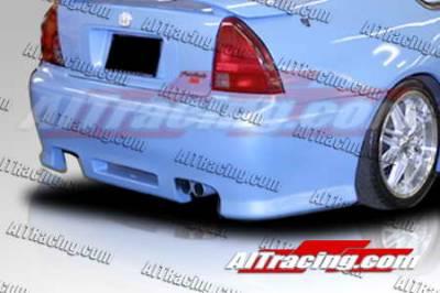 AIT Racing - Honda Prelude AIT Racing Revolution Style Rear Bumper - HP92HIREVRB