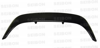 Seibon - Honda Del Sol Seibon TD Style Carbon Fiber Rear Spoiler - RS9397HDDS-TD