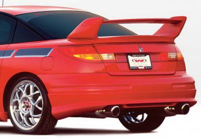 Wings West - Saturn SC Coupe Wings West W-Type Rear Lower Skirt - 890390