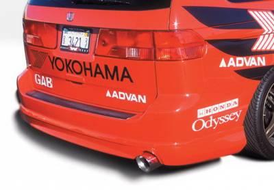 Wings West - Honda Odyssey Wings West W-Type Rear Lower Skirt - 890498