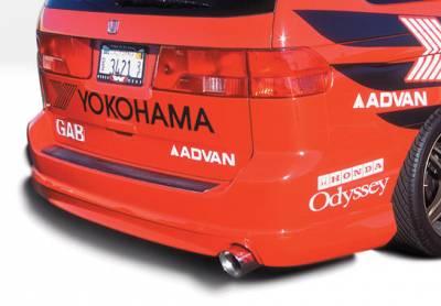 VIS Racing - Honda Odyssey VIS Racing W-Type Rear Lip - Polyurethane - 890498