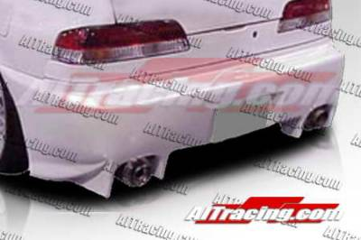 AIT Racing - Honda Prelude AIT Racing EVO2 Style Rear Bumper - HP97HIEVO2RB