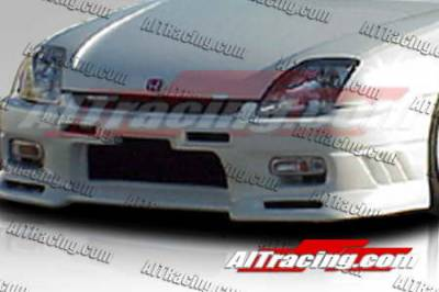 AIT Racing - Honda Prelude AIT Racing EVO3 Style Front Bumper - HP97HIEVO3FB