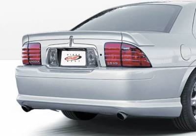 VIS Racing - Lincoln LS VIS Racing Custom LSC Rear Lip - Polyurethane - Polyurethane - 890531