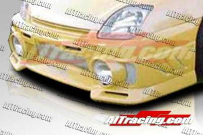AIT Racing - Honda Prelude AIT Racing EVO3-L Style Front Bumper - HP97HIEVO3FBL