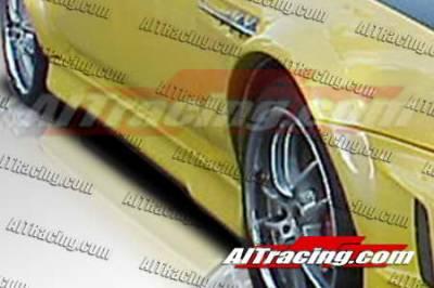 AIT Racing - Honda Prelude AIT Racing EVO4 Style Side Skirts - HP97HIEVO4SS