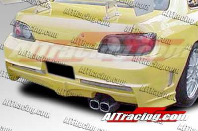 AIT Racing - Honda Prelude AIT Racing Extreme Style Rear Bumper - HP97HIEXSRB