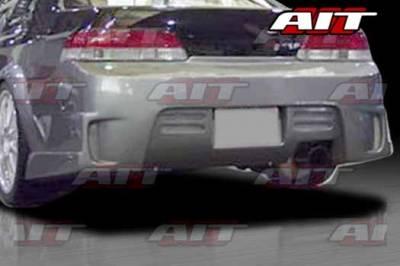 AIT Racing - Honda Prelude AIT GTB Style Rear Bumper - HP97HIGTBRB