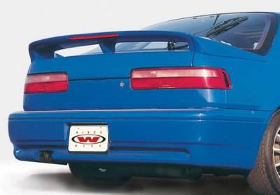 Wings West - Acura Integra 2DR Wings West Racing Series Rear Lower Skirt - 890688