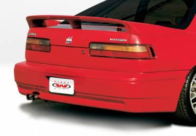 VIS Racing - Acura Integra 2DR VIS Racing Racing Series Rear Lower Skirt - 890689